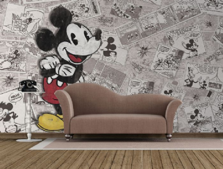 Mickey Mouse Disney wall mural wallpaper